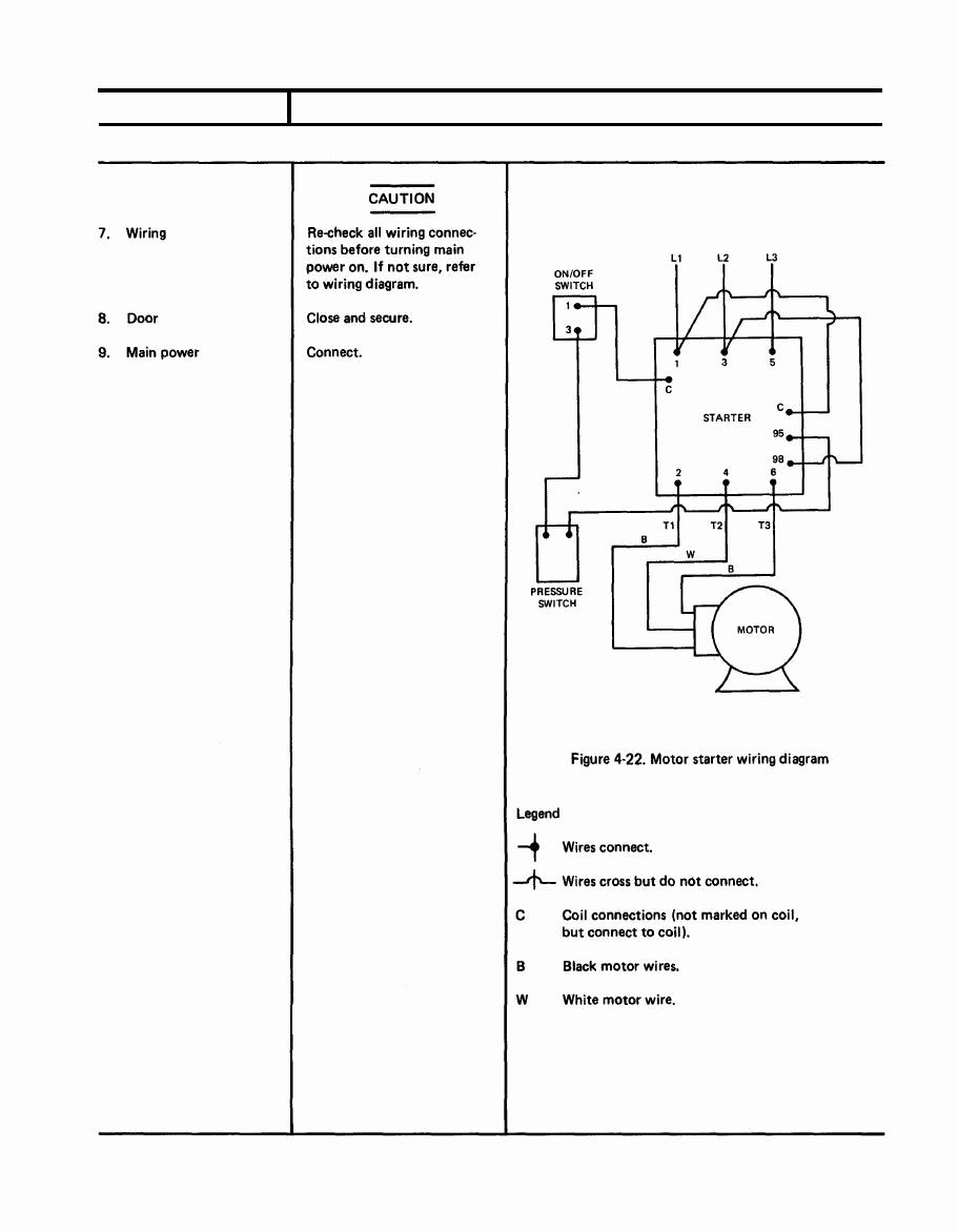 Ge Motor Starter Wiring Diagram Sample