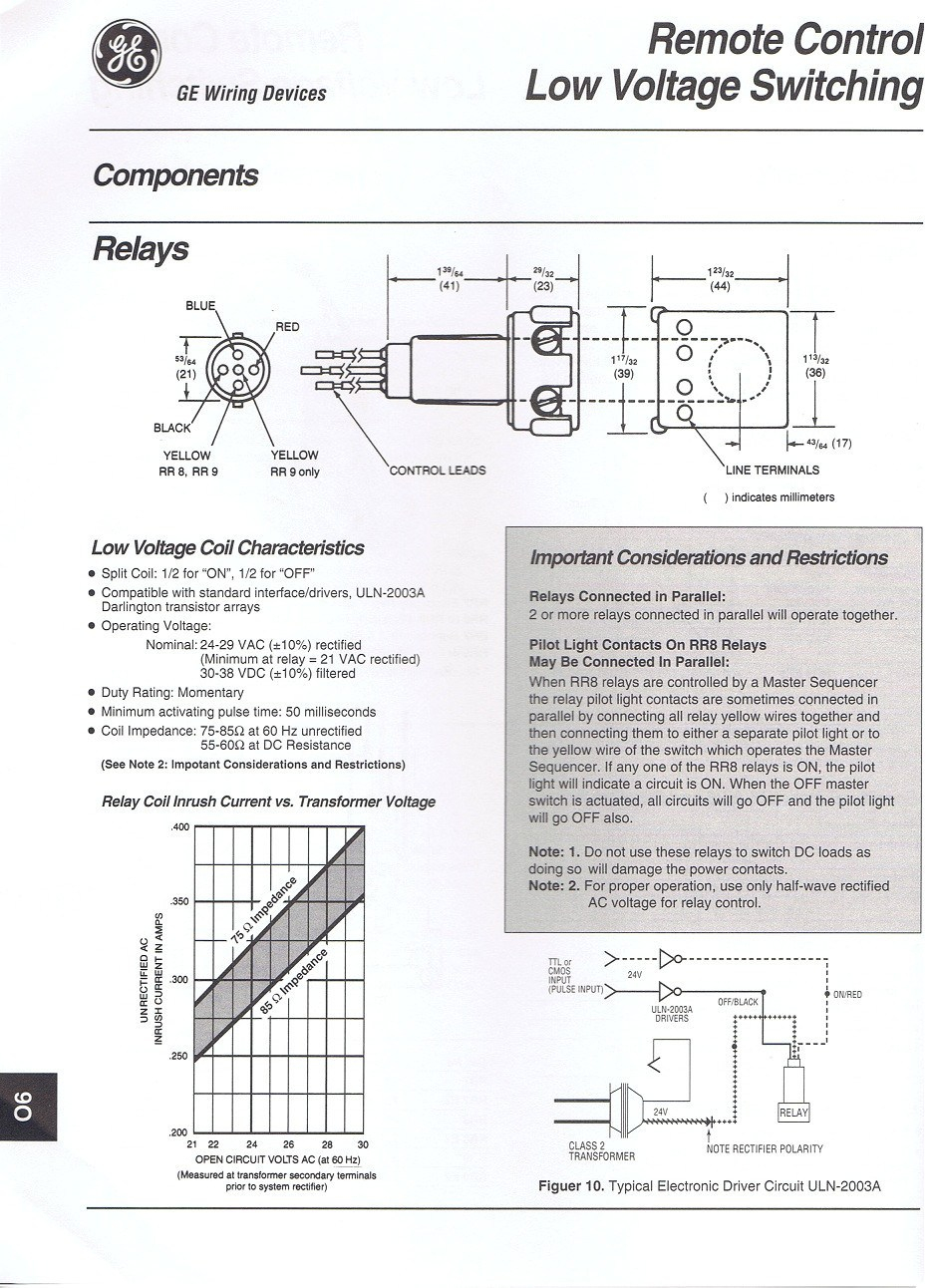 ge rr8 relay wiring diagram Download-free wiring diagram Awesome Ge Rr9 Relay Wiring Diagram Vig Te Electrical Circuit of 14-h