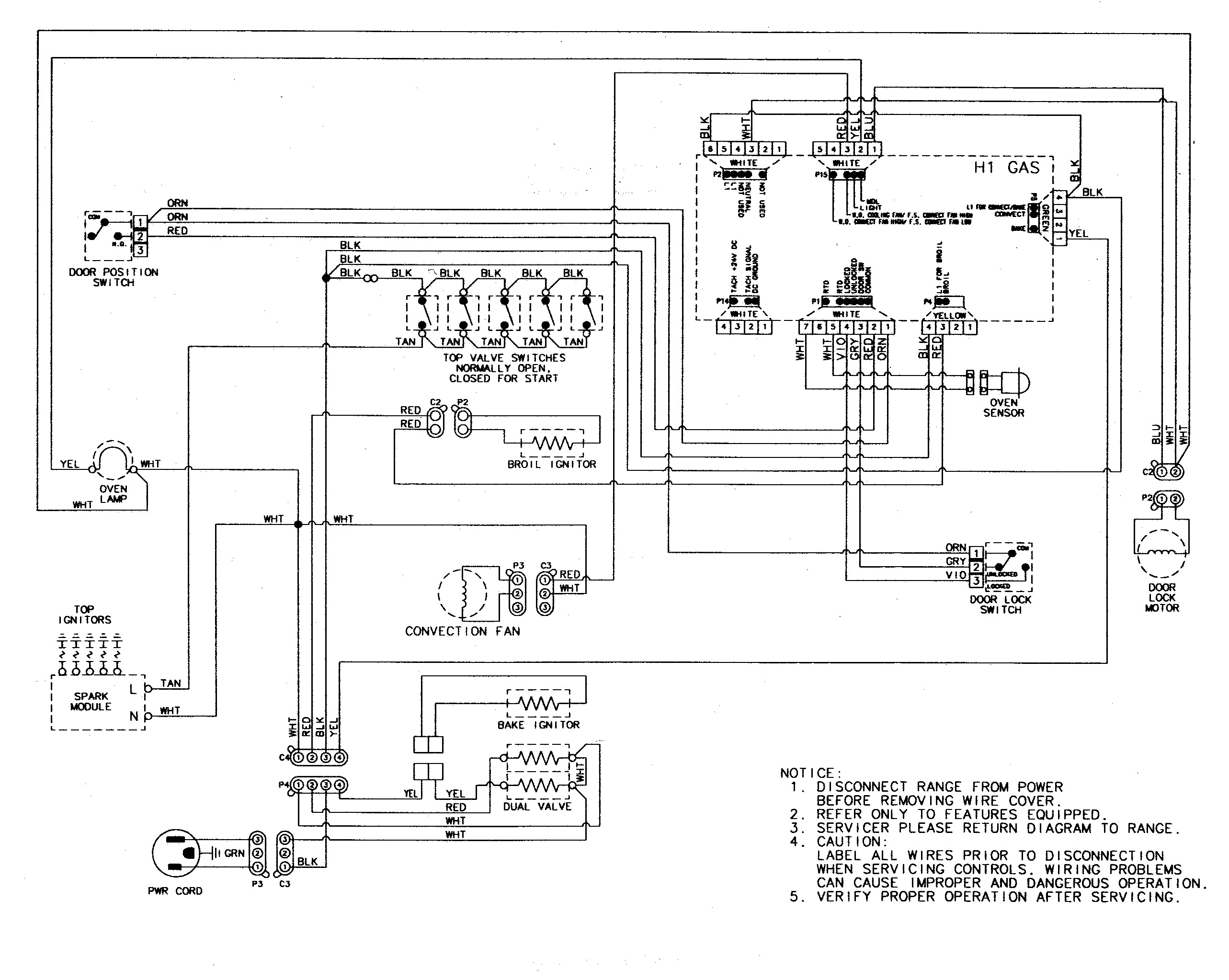 Ge Stove Wiring Diagram Download Wiring Collection