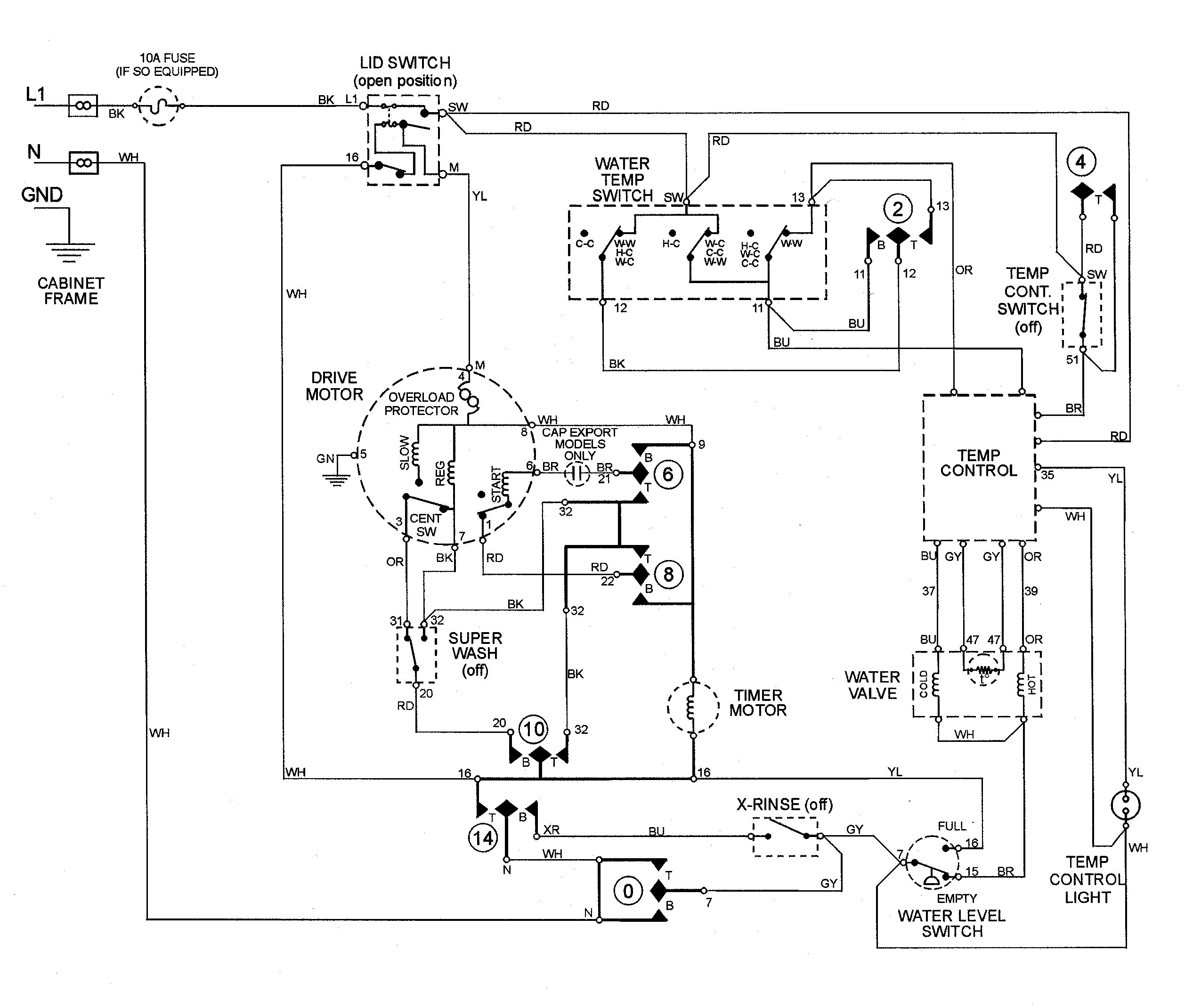 Ge Washer Wiring Diagram Collection Dish Hopper Joey Download Manual Washing Machine Best Showy 10