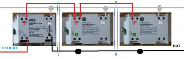 ge z wave 4 way switch wiring diagram Collection-Problem wiring GE with two add ons 18-e