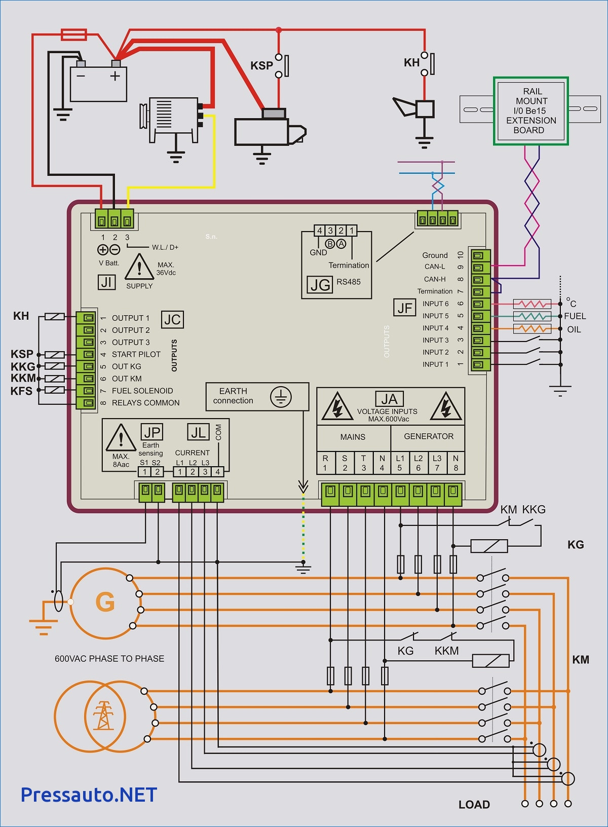 generac ats wiring diagram Collection-Wiring Diagram Standby Generator New Portable Generator Transfer Switch Wiring Diagram for Manual Generac 5-l