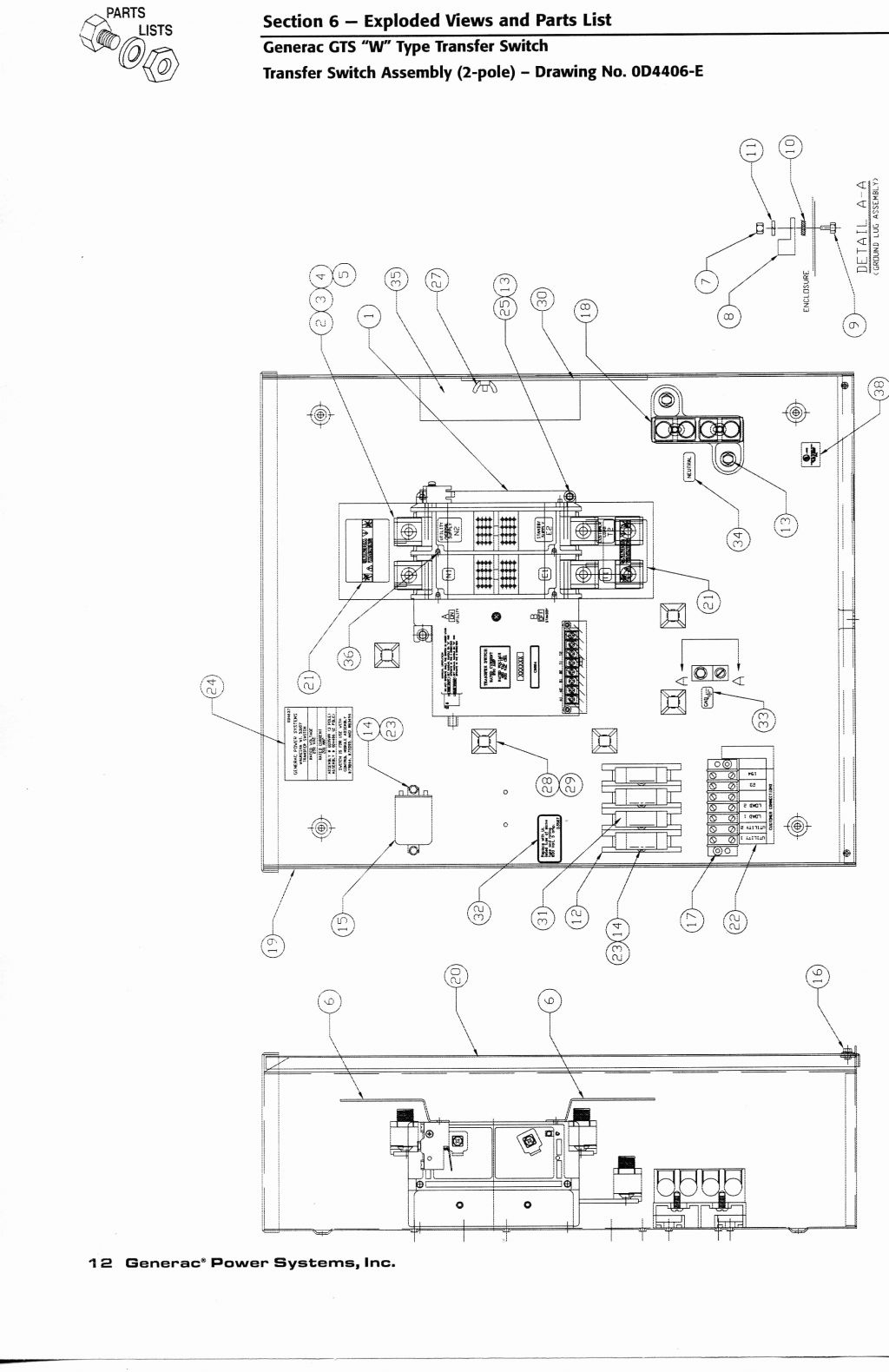 generac gts transfer switch wiring diagram download