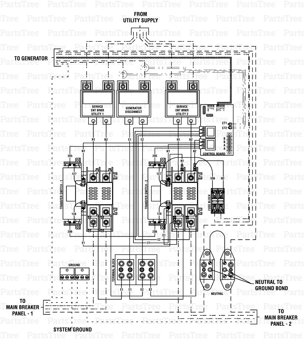 generac rts transfer switch wiring diagram download