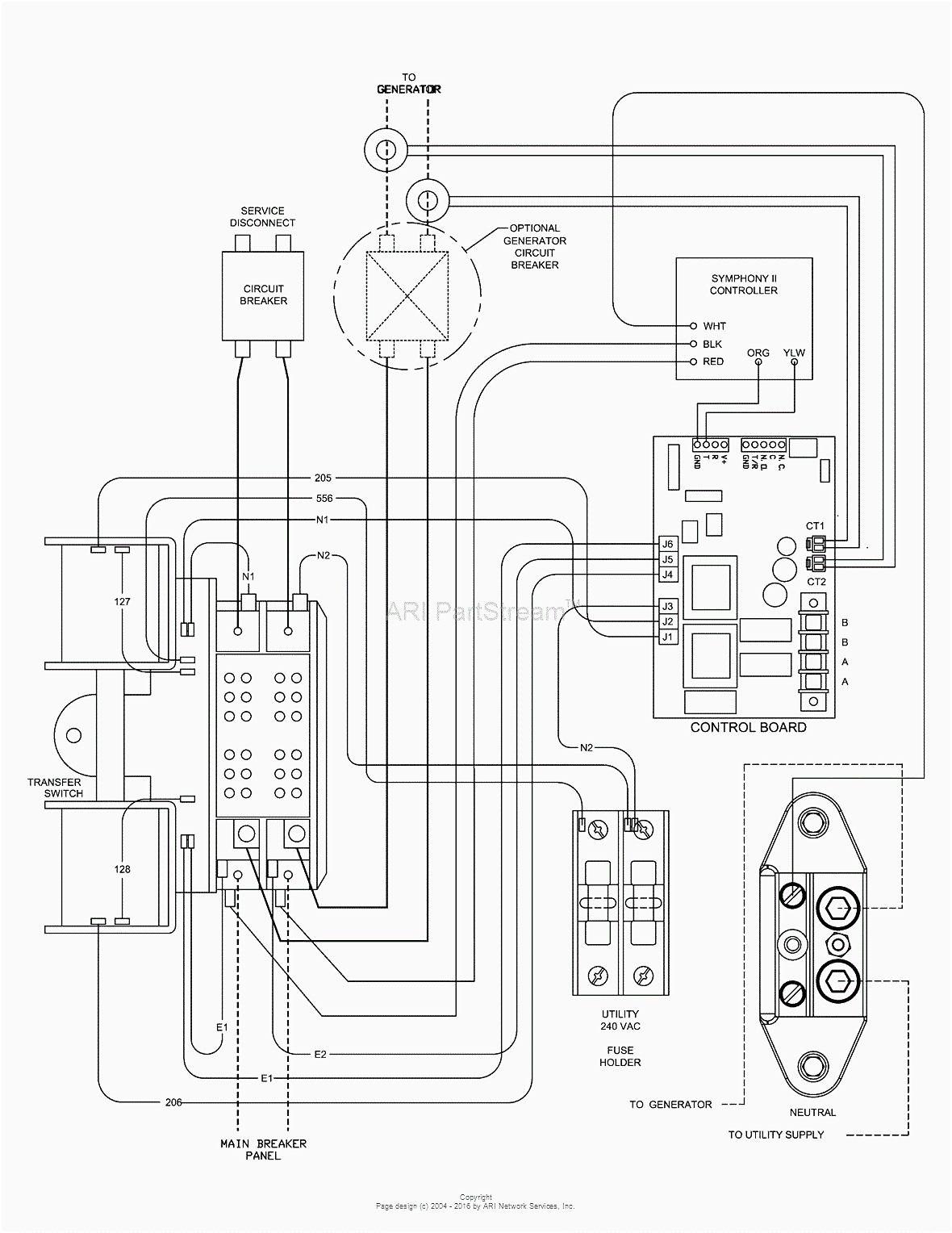 Generac Rts Transfer Switch Wiring Diagram Download Collection Main Lug Panel Generator Automatic With