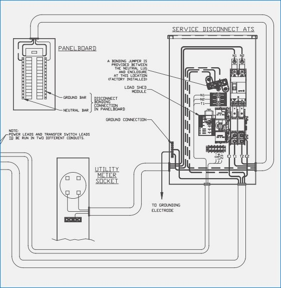 generac whole house transfer switch wiring diagram Download-Whole House Transfer Switch Wiring Diagram Beautiful Generac Generator Wiring Diagram Arbortech 9-q
