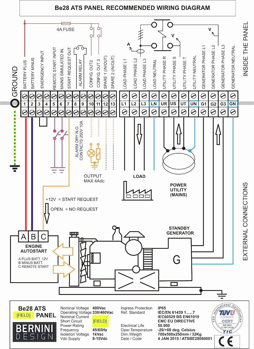 generac wiring diagram Collection-Transfer Switch Wiring Diagram Fresh Generac Automatic Transfer Switch Wiring Diagram Autoctono 10-c