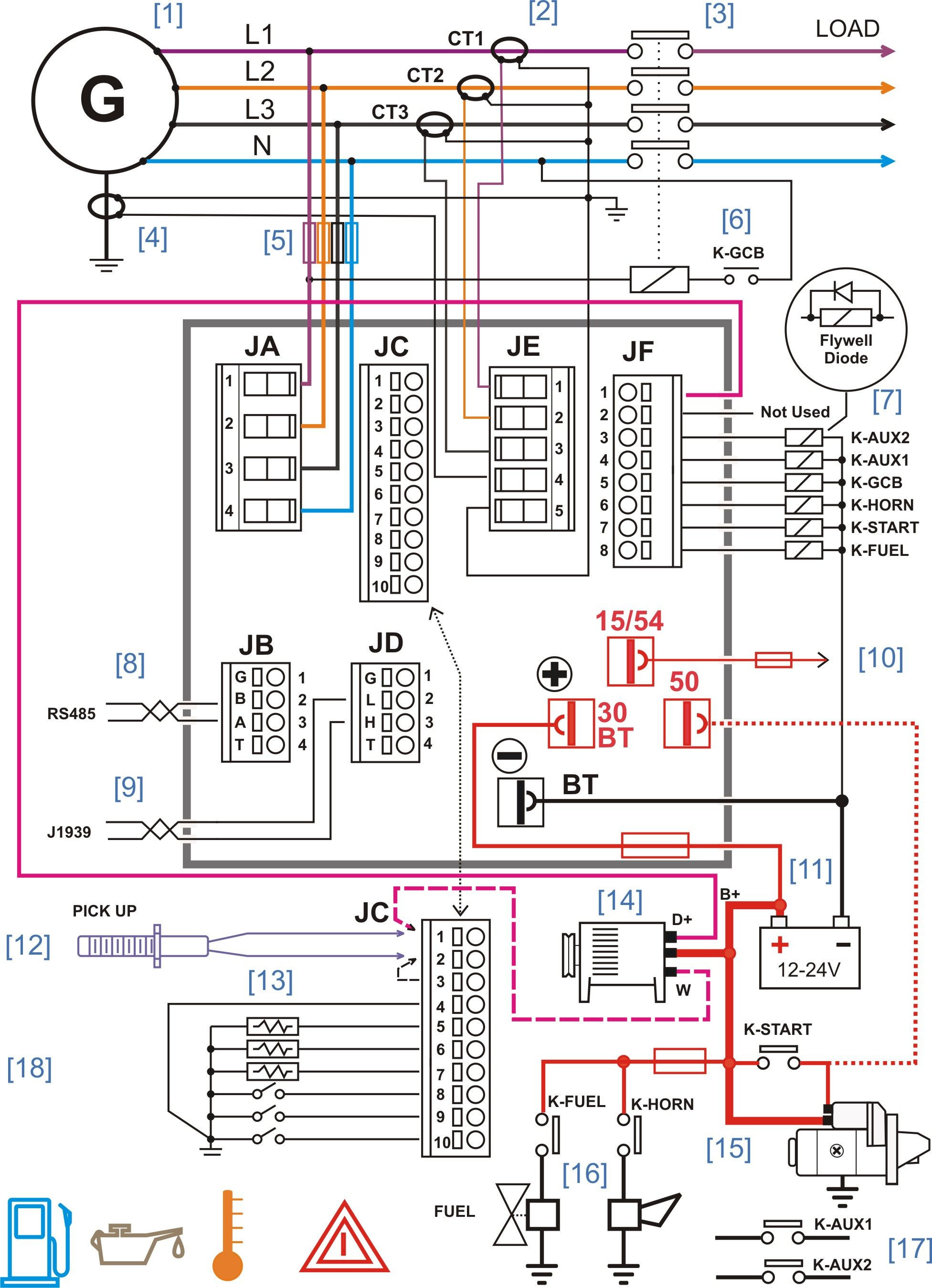 generator control panel wiring diagram Collection-Wiring Diagram For Auto Crane Inspirationa Diesel Generator Control Panel Wiring Diagram 15-q