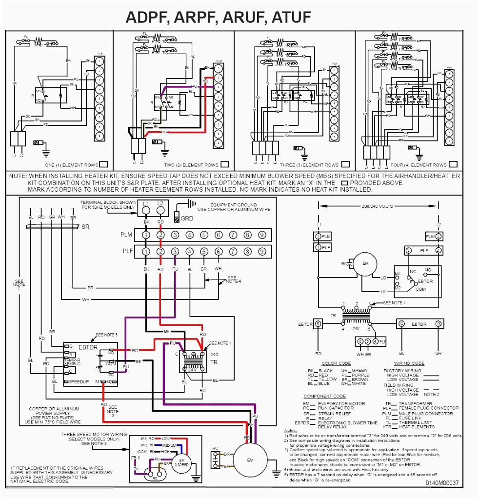 goodman aruf air handler wiring diagram Download-goodman air handler wiring diagram electric furnace at heat pump rh deconstructmyhouse org AEPF Goodman Air Handler Goodman Condenser Wiring Diagram 14-n