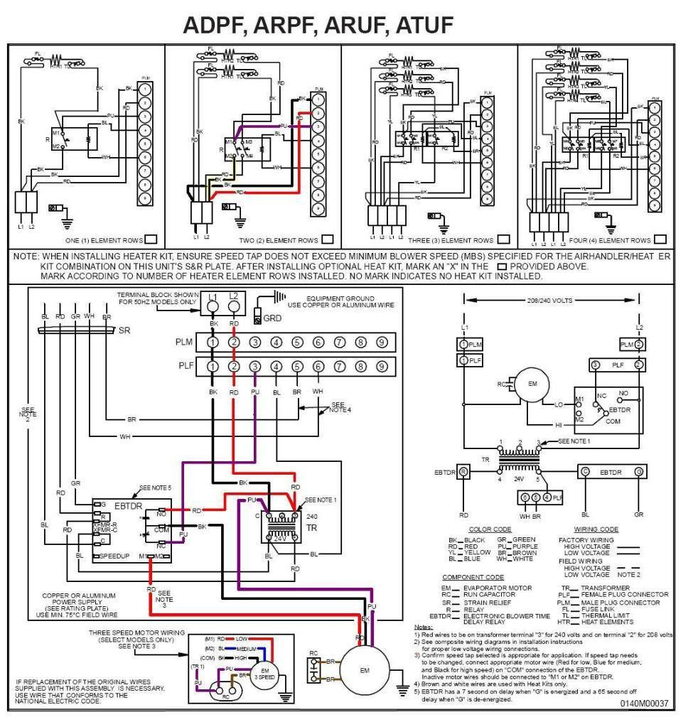 goodman package unit wiring diagram Collection-Goodman Condensing Unit Wiring Diagram 6-j