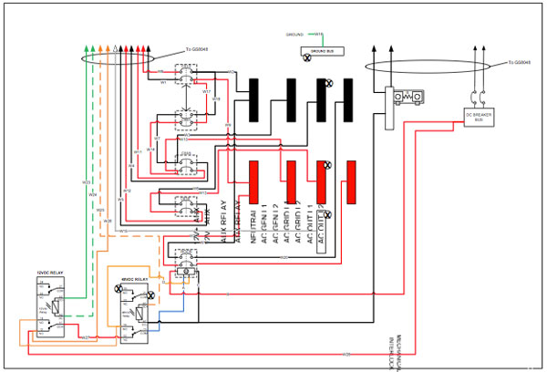 grid tie solar wiring diagram Download-Figure 7 Detail diagram of the Radian GSLC175 AC 120 240 GSLC 20-s