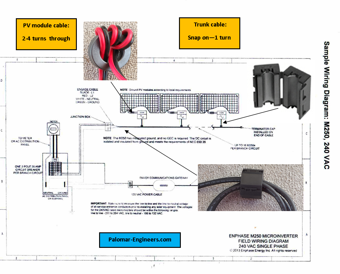 grid tie solar wiring diagram Collection-palomar engineers solar interference filter installation diagram 2 15-i