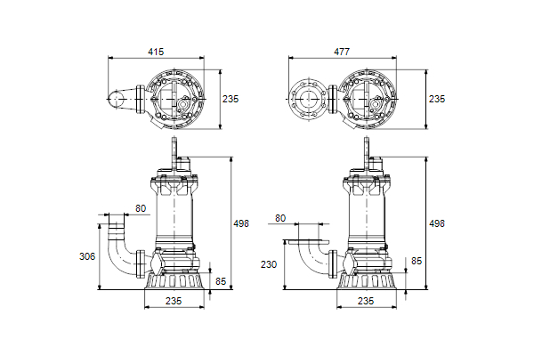 grundfos submersible pump wiring diagram Collection-dimdrawing 2-e