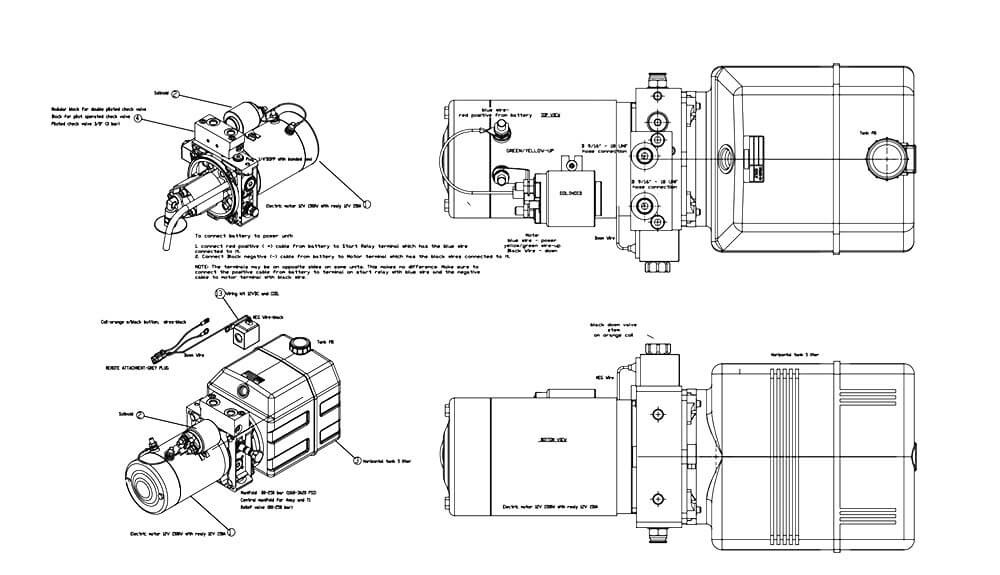 hawke dump trailer wiring diagram Collection-40 Fresh Hawke Dump Trailer Wiring Diagram 14-h