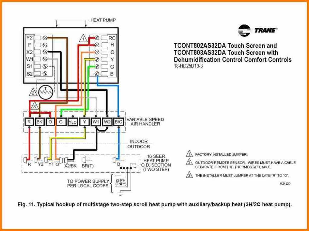 heat pump wiring diagram Download-Installing orange Wire for Heat Pump Luxury How to Wire A Heat Pump thermostat Honeywell Wiring 7-d