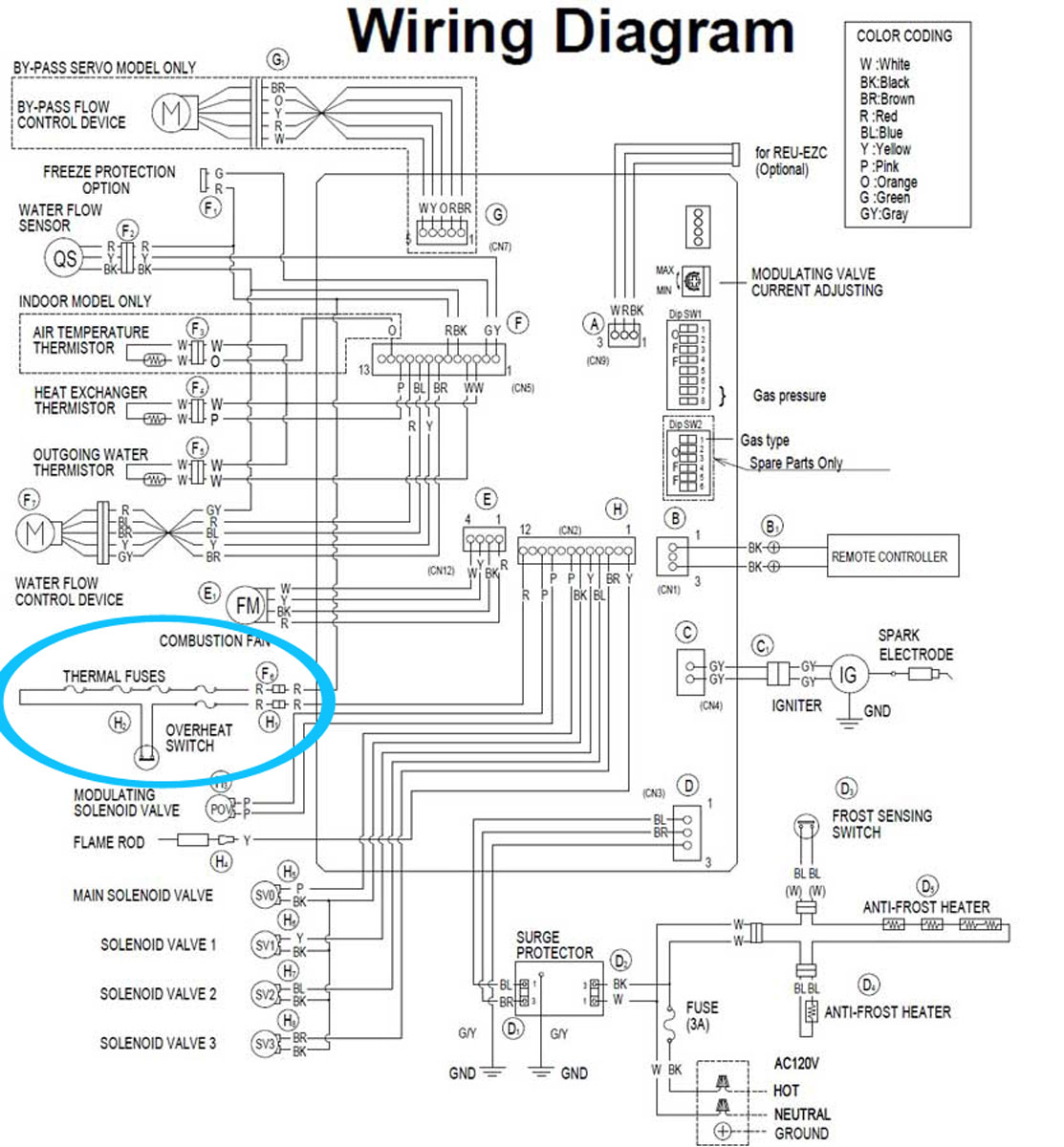 Heat Surge Wiring Diagram Gallery Wiring Collection