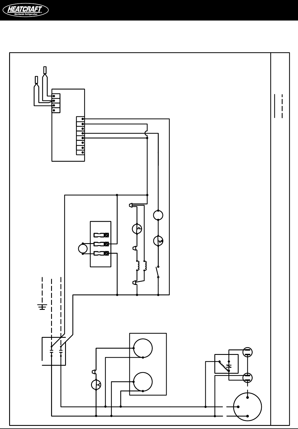 heatcraft walk in freezer wiring diagram Collection-Heatcraft Freezer Wiring Diagram 1-b