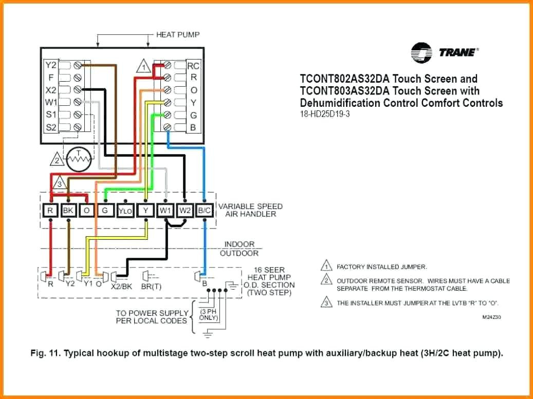 Diagram Typical Thermostat Wiring Diagram Collection