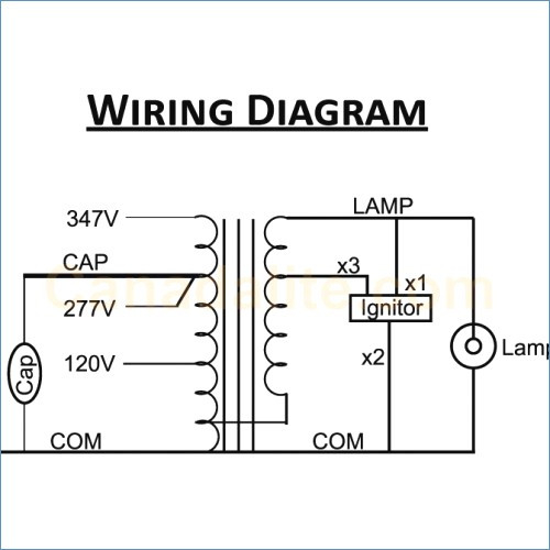 high pressure sodium ballast wiring diagram collection