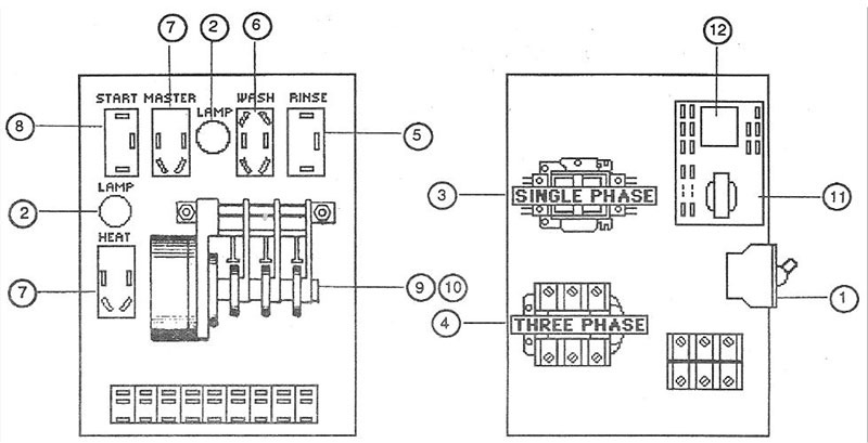 hobart dishwasher am14 wiring diagram Collection-Rinse 20-a