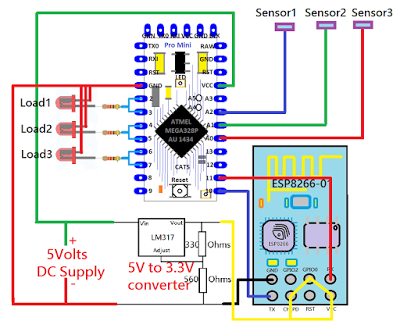 home automation wiring diagram Collection-Home Automation Home Automation DIY Version Internet Controlled Switch Arduino ESP8266 12-j