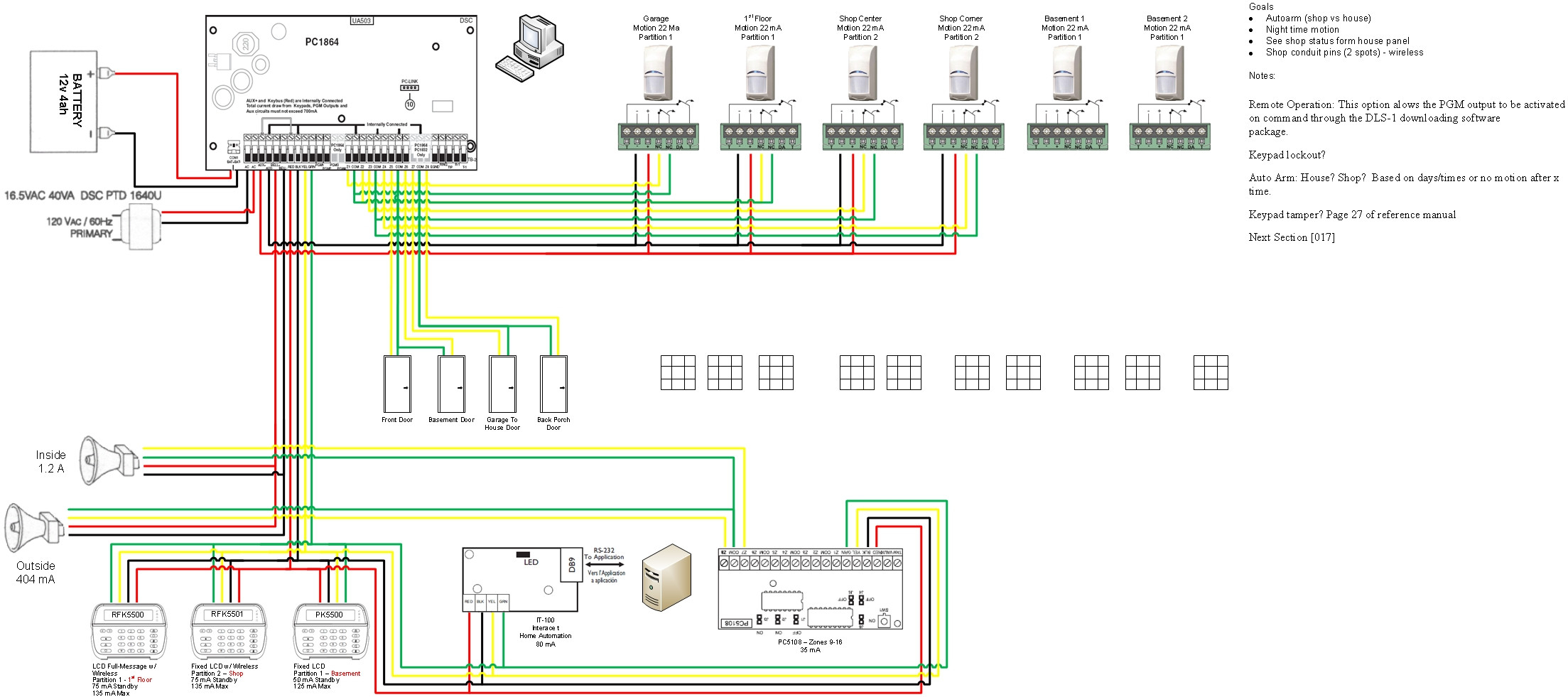 home security system wiring diagram Download-Security Alarm System Wiring Diagram Save Amazing Home Alarm System Wiring Diagram Ornament Electrical 14-f