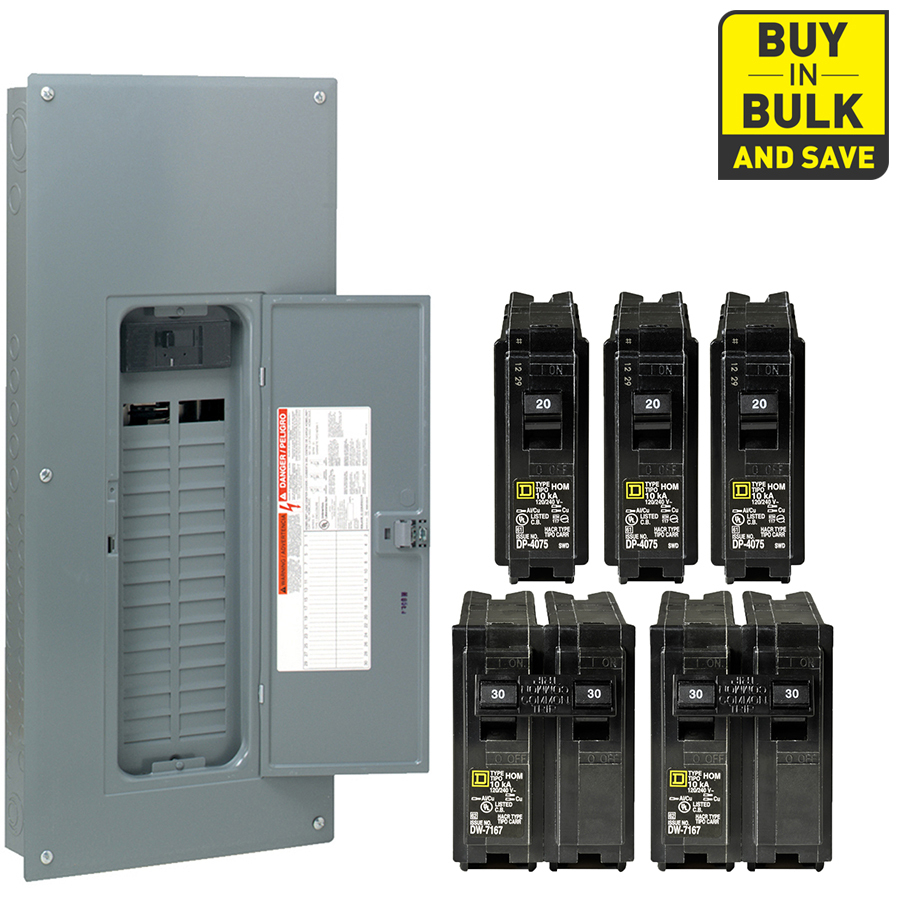 homeline 70 amp load center wiring diagram Collection-Square D Homeline 60 Circuit 30 Space 200 Amp Main Breaker Plug 7-b