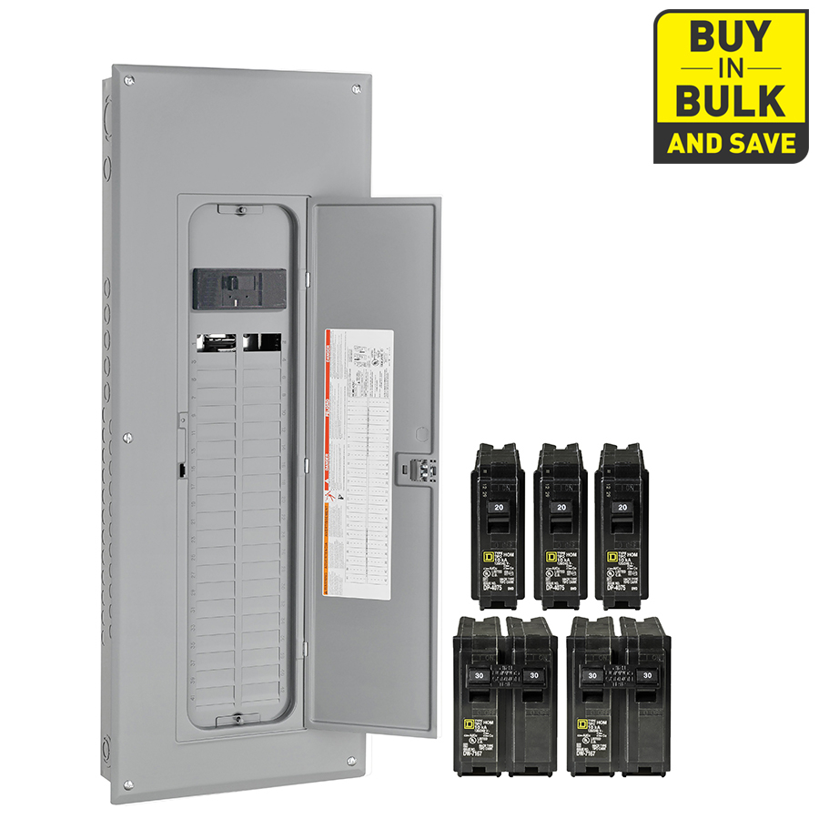 homeline 70 amp load center wiring diagram Collection-Square D Homeline 80 Circuit 40 Space 200 Amp Main Breaker Plug 1-l