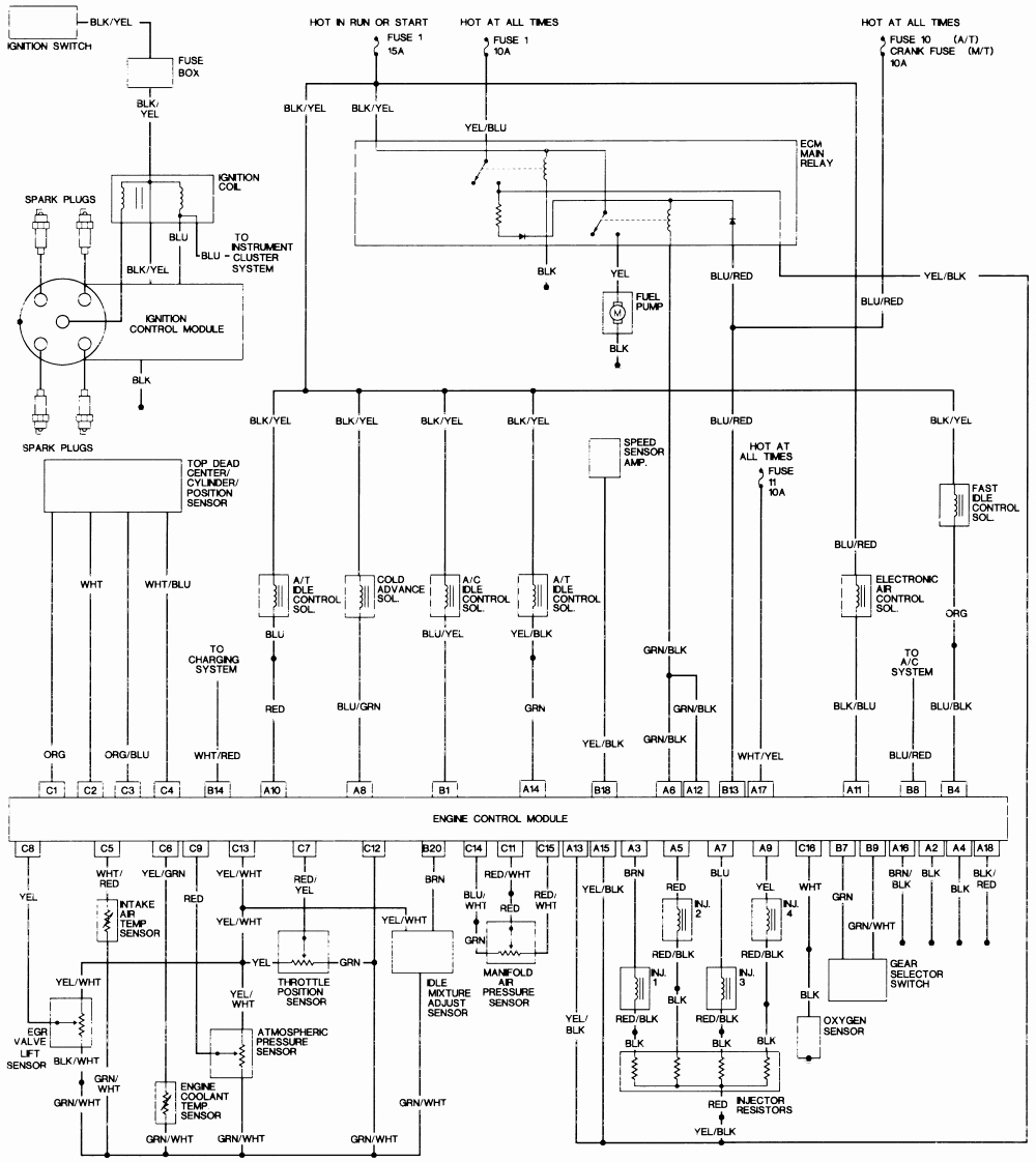 honda accord wiring diagram Download-Horn Wiring Diagram New 1994 Honda Accord Wiring Diagram Wiring Diagram Database 19-d