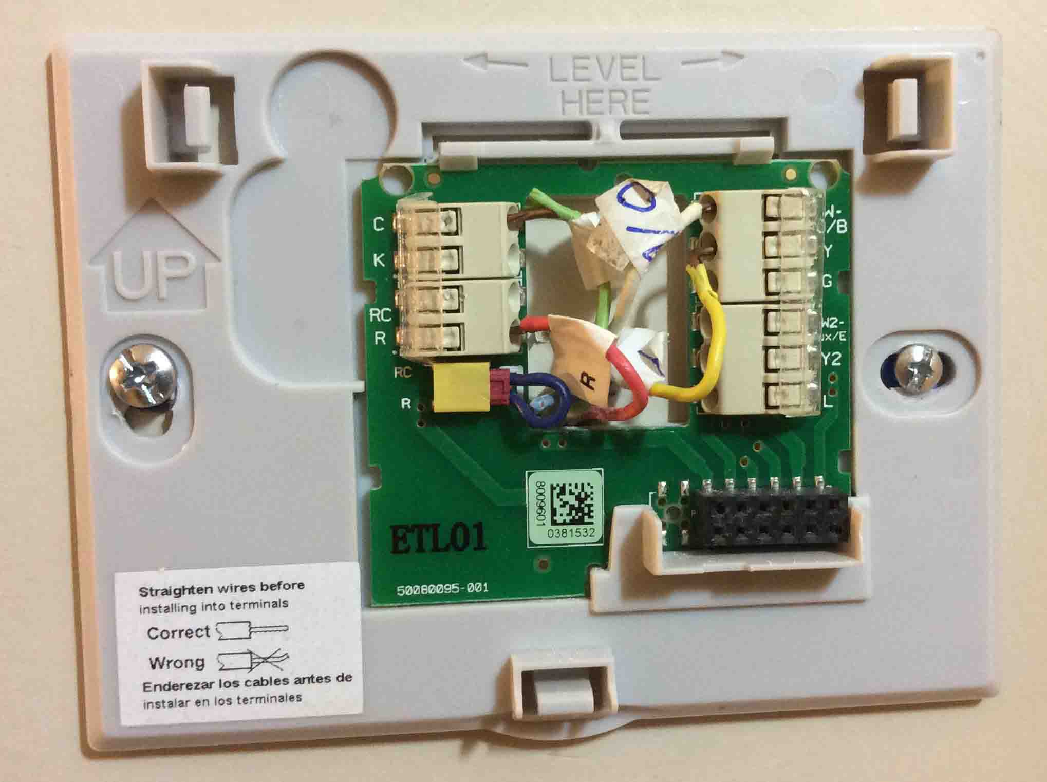 honeywell 9000 thermostat wiring diagram Collection-Honeywell Wifi thermostat Wiring Diagram Best Deluxe Non Guide to thermostat Wiring Color Code Making 13-d