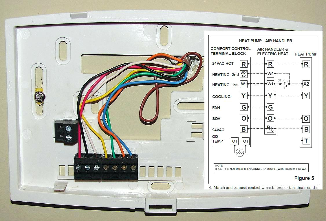 honeywell heat pump thermostat wiring diagram Download-Honeywell Heat Pump thermostat Wiring Diagram New thermostat for Home Trane thermostat Remote Controlled thermostat 13-p
