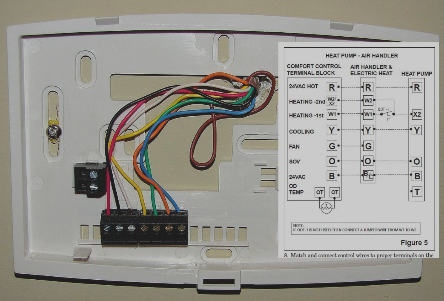 honeywell th5220d1003 wiring diagram Download-27 New Wiring Diagram For Honeywell Thermostat Th5220d1003 Collection 5-d