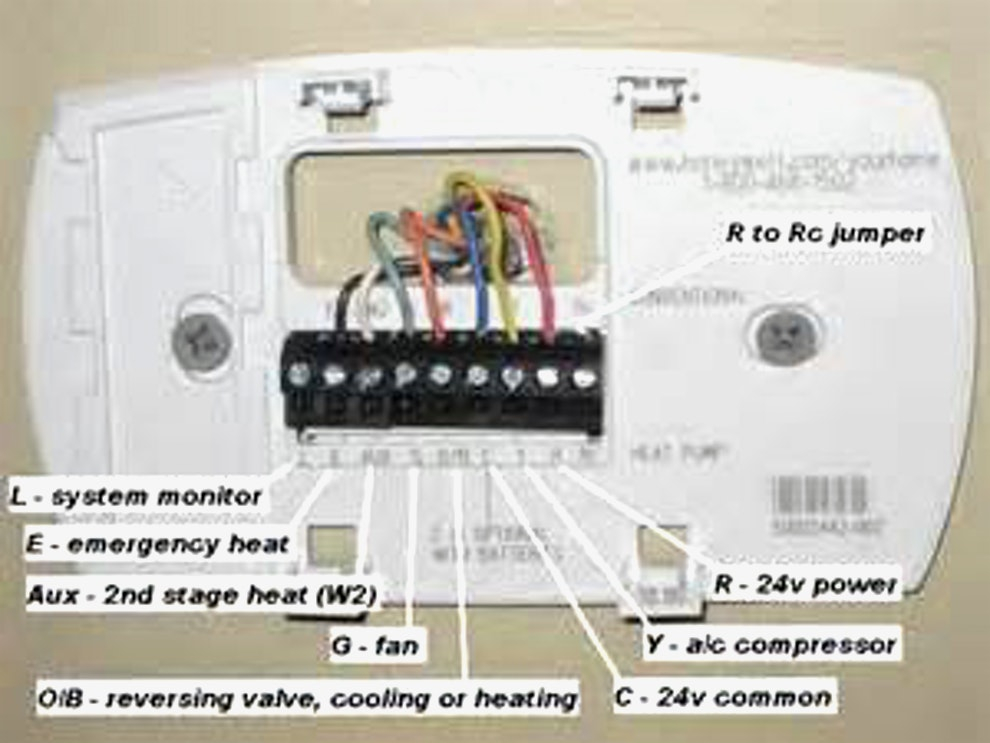 honeywell th5220d1003 wiring diagram Collection-Honeywell thermostat Installation 6 Wire Best Honeywell Control Panel Wiring Diagram Wiring Diagrams 9-o