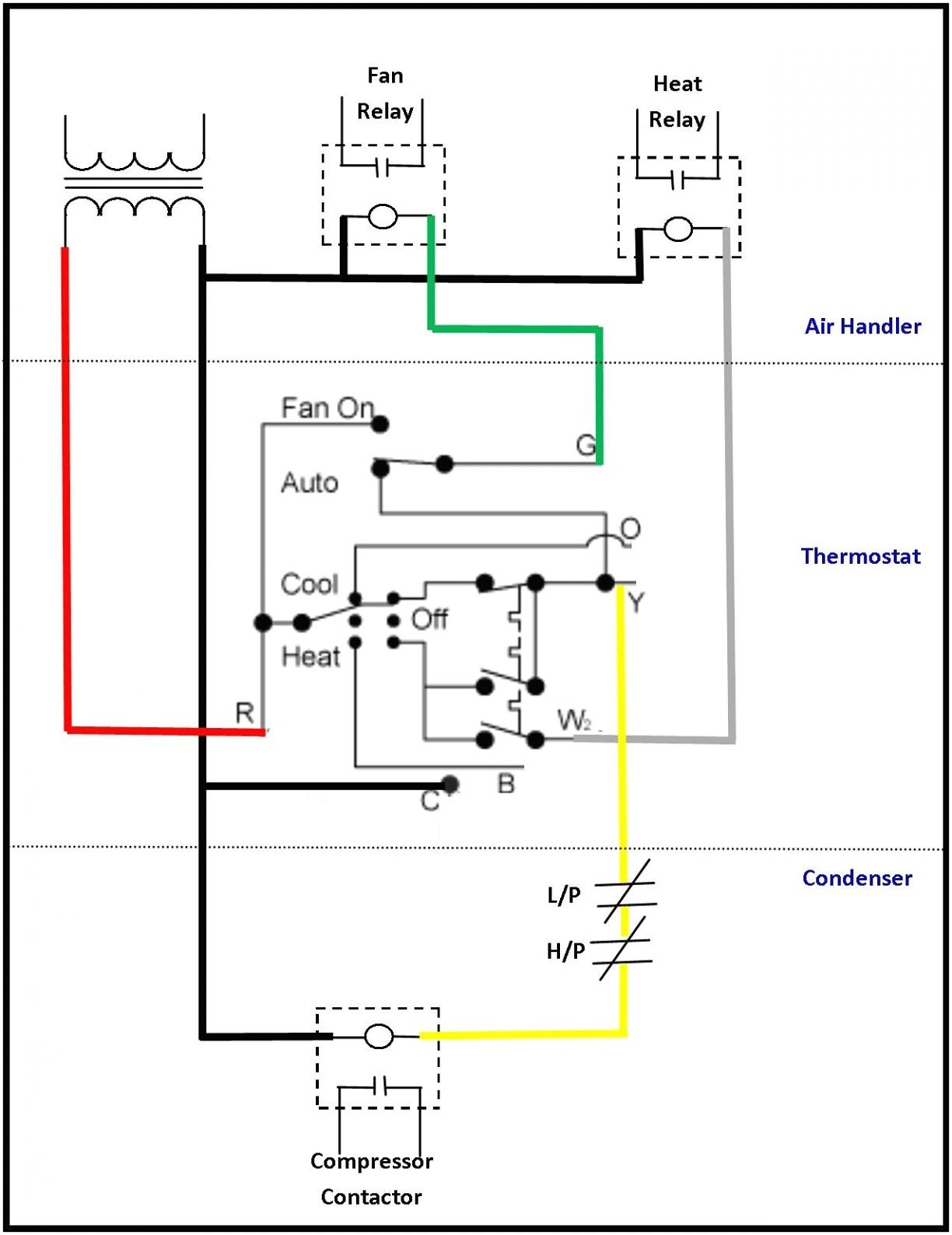 honeywell thermostat ct87n wiring diagram Collection-Honeywell Thermostat Ct87n Wiring Diagram 8-p