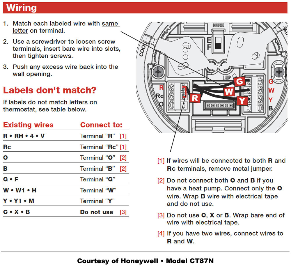 honeywell thermostat ct87n wiring diagram Collection-Honeywell Thermostat Wiring Instructions Diy House Help Adorable Lyric T5 Diagram 2-j