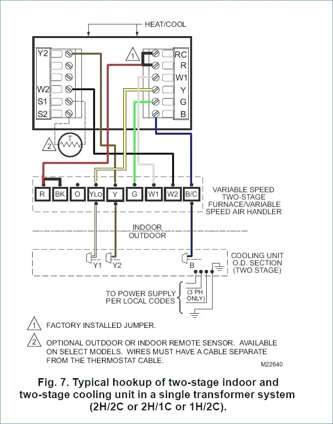 honeywell thermostat wiring diagram Collection-7 wire thermostat wiring diagram Collection carrier ac thermostat 6 ac thermostat wiring diagram inspirational 19-l