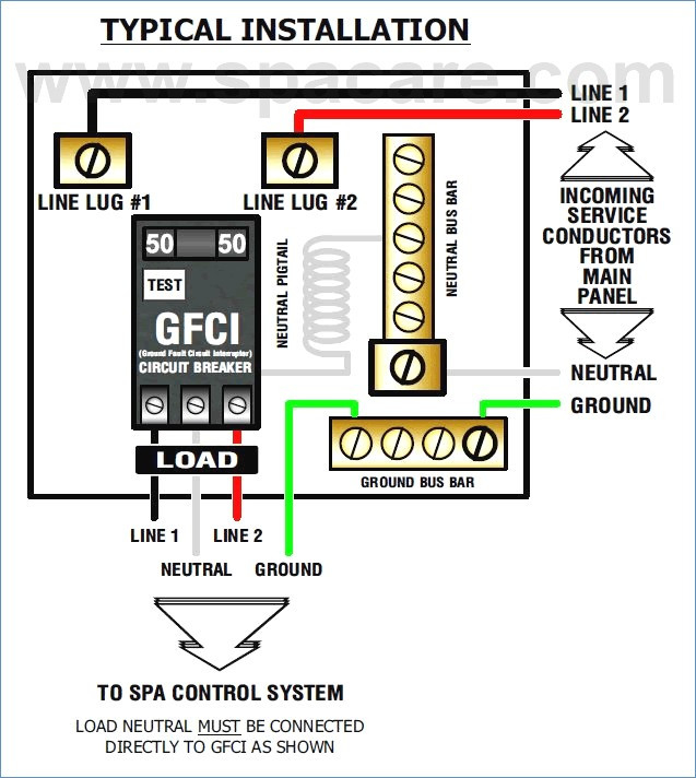 hot tub gfci wiring diagram Collection-How to Wire A Gfci with Switch Diagram Best Wiring Diagram Gfci Circuit Breaker Shop 10-r