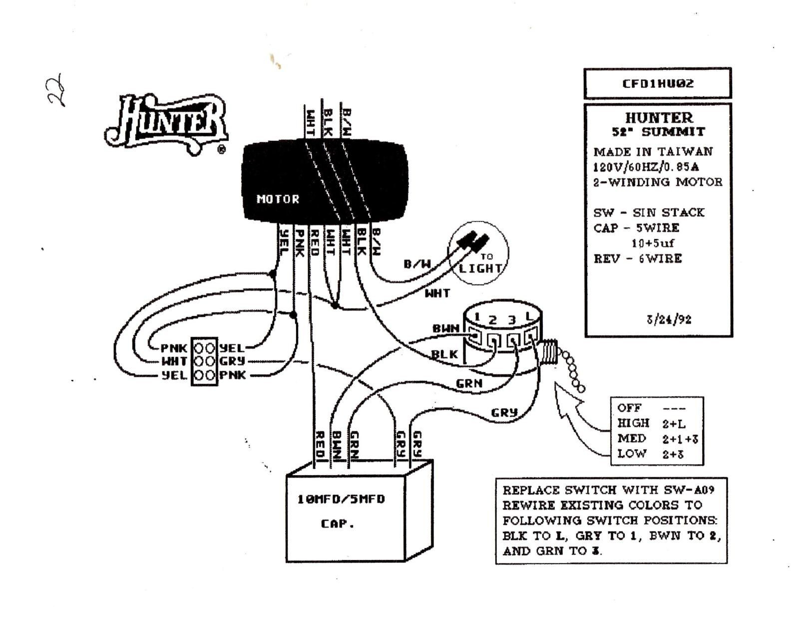 hunter ceiling fan 3 way switch wiring diagram Collection-Wiring Diagram for Ceiling Fan Switch New Hunter Ceiling Fan Speed Switch Wiring Diagram 8-c