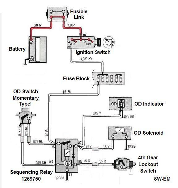 ignition interlock wiring diagram Download-Notice Snubbing Diode see Reference Info below internal to Sequencing Relay from Pins 87 to 31 This ponent is intended to clamp the reverse voltage 4-a