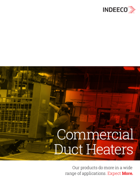 indeeco duct heater wiring diagram Download-C10 20 5 Duct Heater Catalog 18-s
