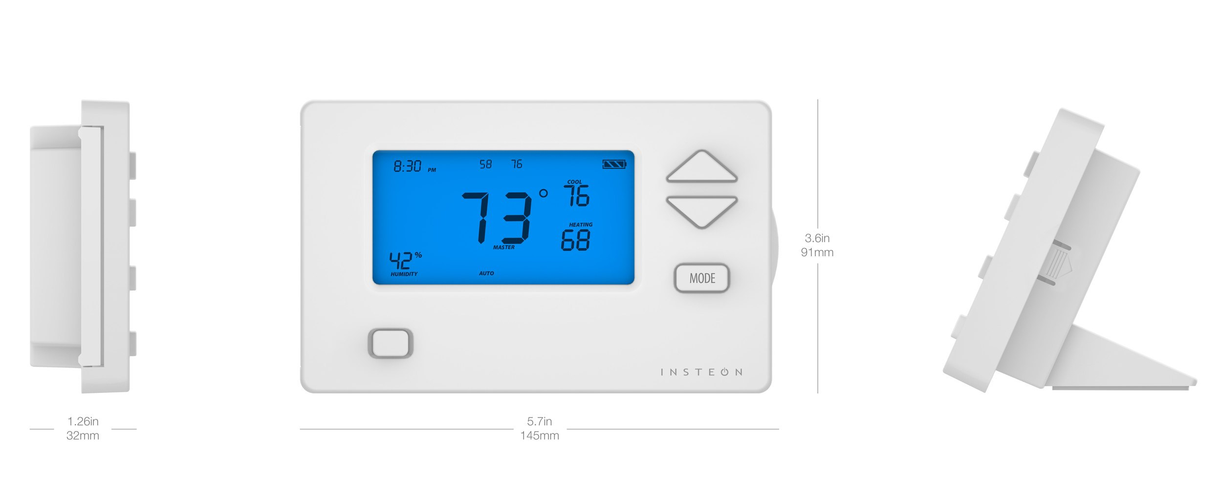 insteon thermostat wiring diagram Download-INSTEON Wireless Thermostat 6-j
