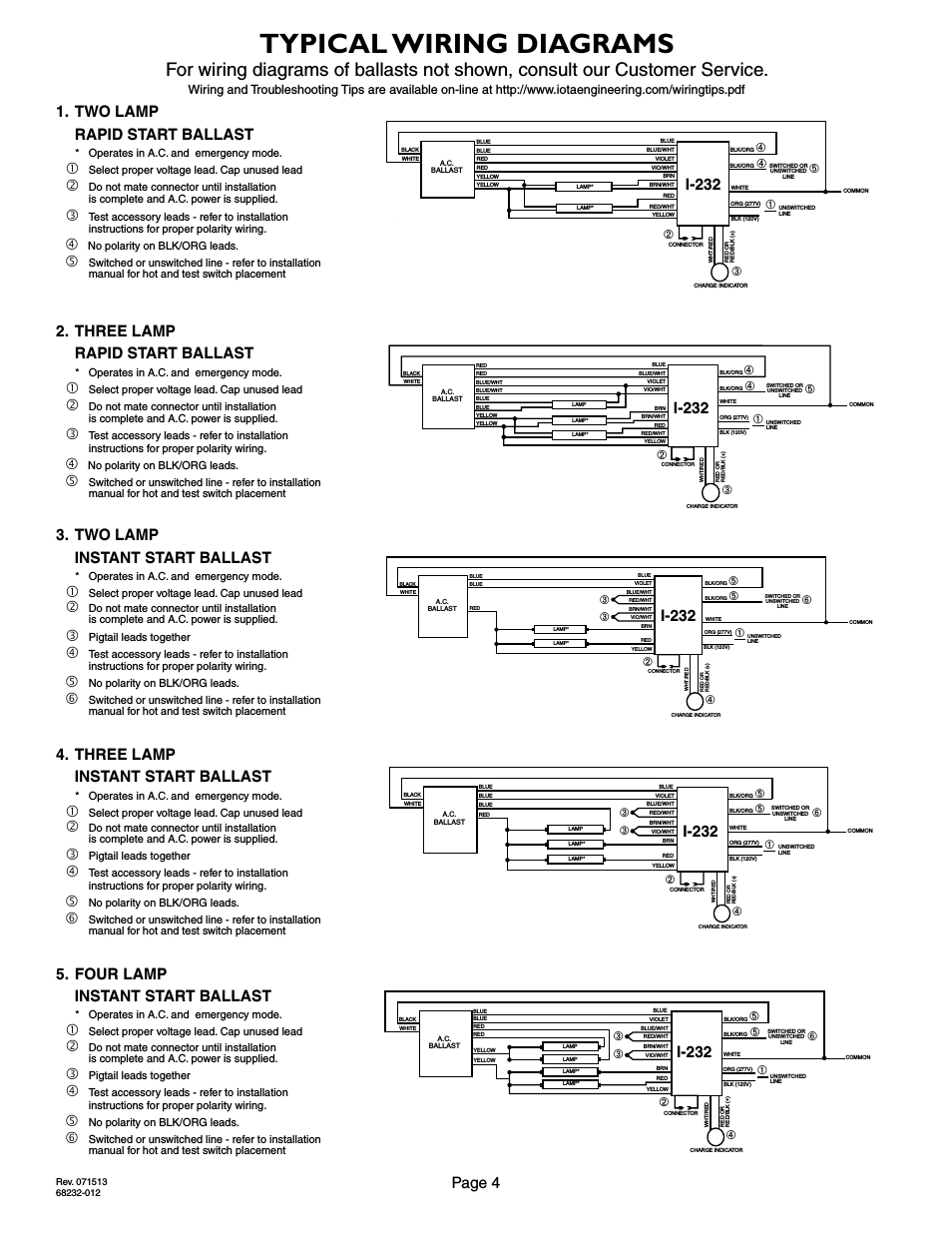 iota emergency ballast wiring diagram Download-ponent wiring diagrams for ballasts T12 T8 Ballast Wiring 15-o