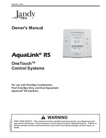 jandy 4 button spa side remote wiring diagram Download-Jandy AquaLink e Touch Home Swimming Pool Parts Filters 19-r