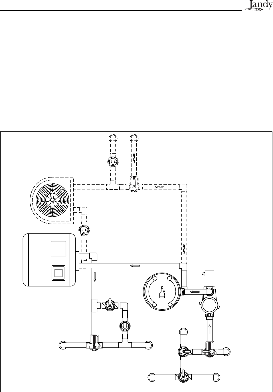 jandy 4 button spa side remote wiring diagram gallery
