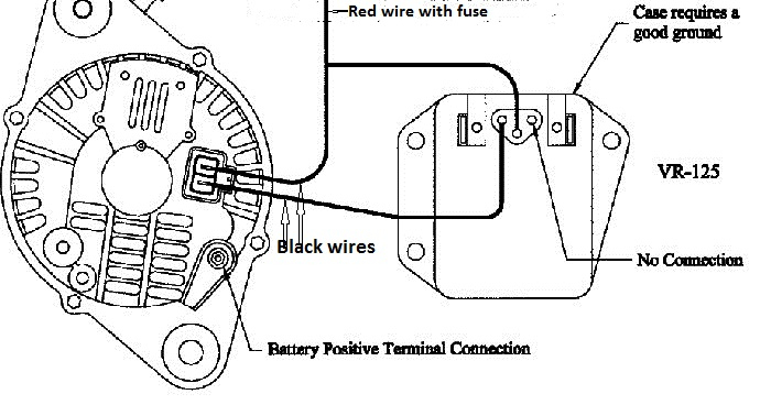 jeep cherokee alternator wiring diagram Download-How to Make a External Voltage Regulator for Dodge Jeep Chrysler 13-e