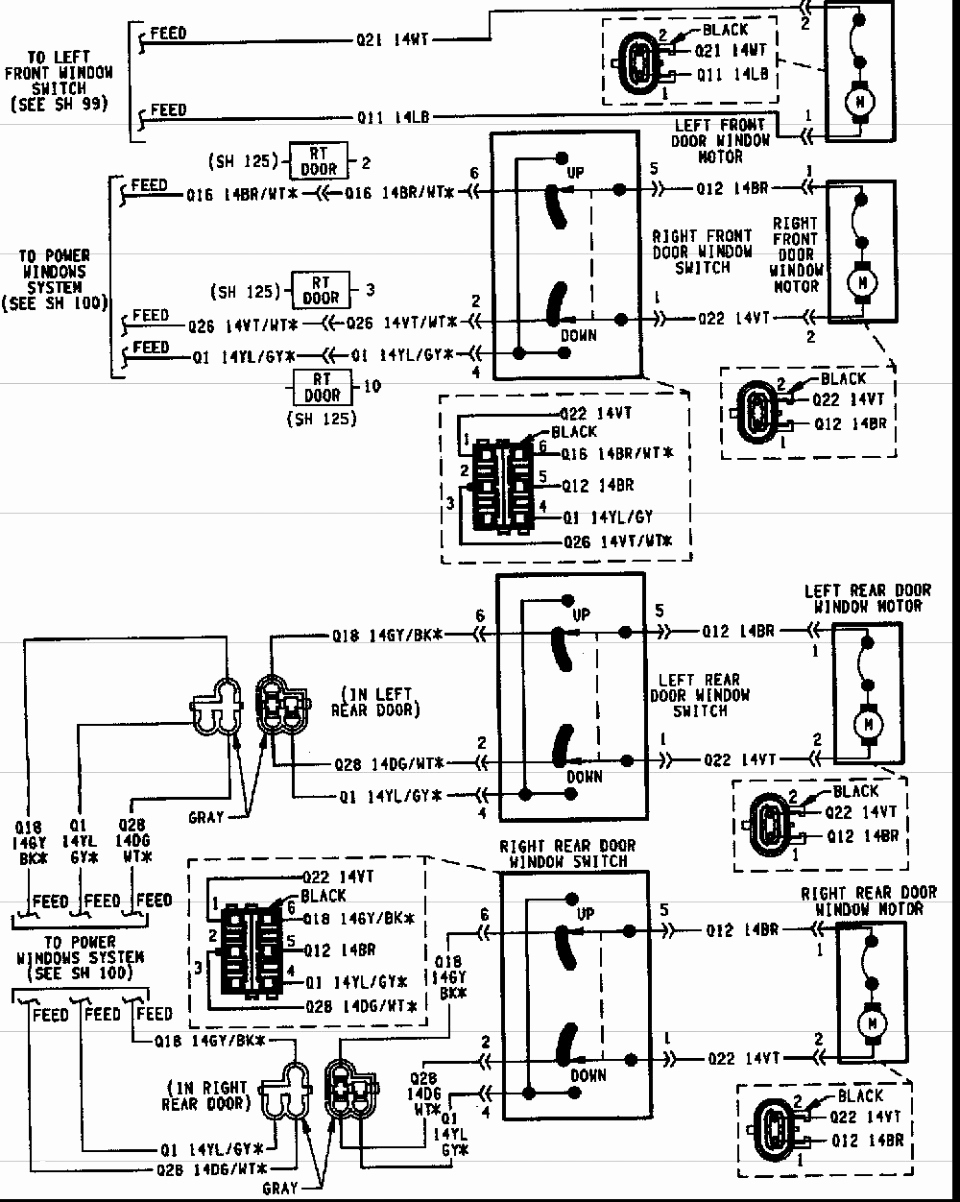 jeep grand cherokee wiring diagram gallery