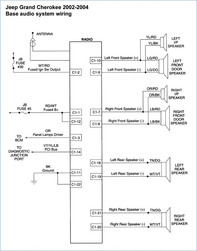 jeep grand cherokee wiring diagram Download-Wiring Diagram For 1998 Jeep Grand Cherokee – yhgfdmuor 16-c