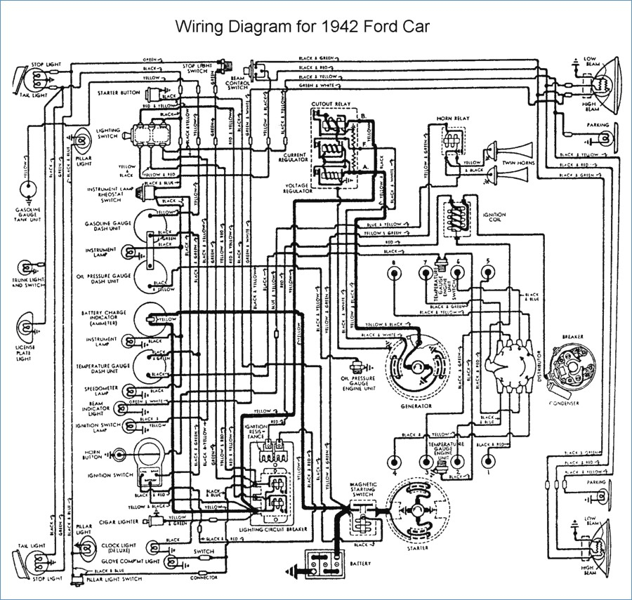 jl audio 12w6v2 wiring diagram Collection-Flathead Electrical Wiring Diagrams 1-i