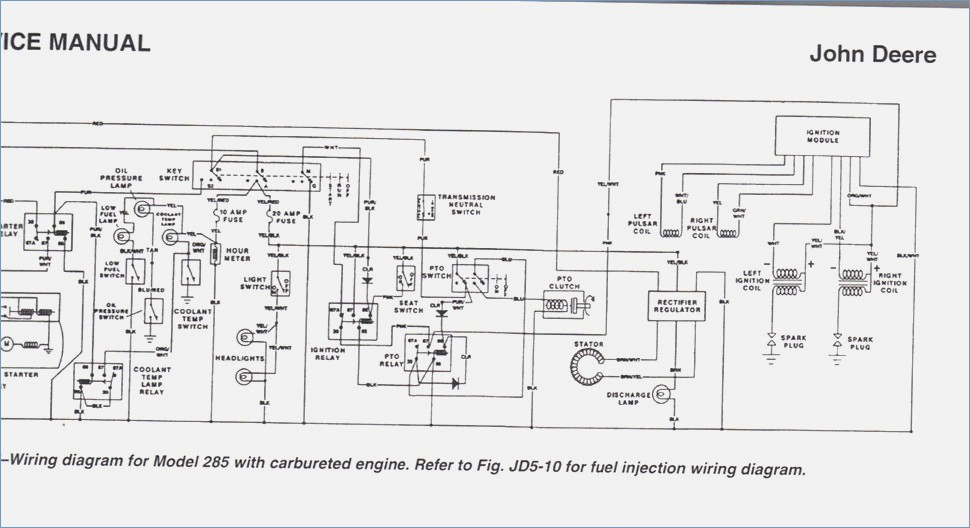 john deere x320 wiring diagram Download-John Deere X320 Wiring Diagram Luxury John Deere La105 Wiring Diagram – Smartproxyfo 11-r