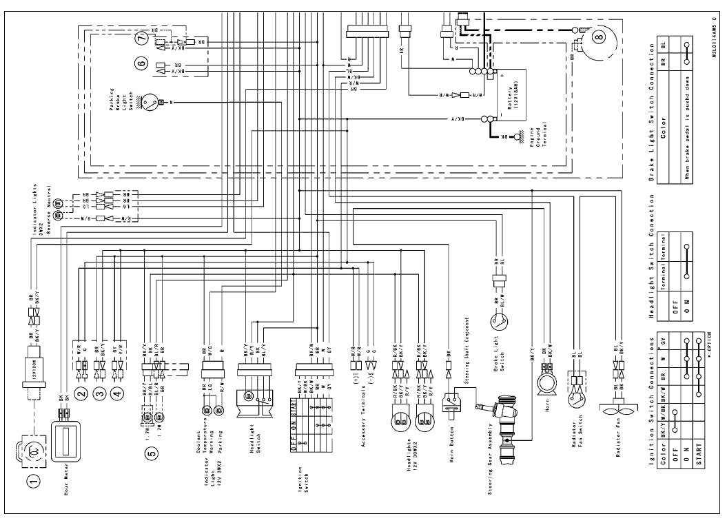 kawasaki mule 550 wiring diagram collection